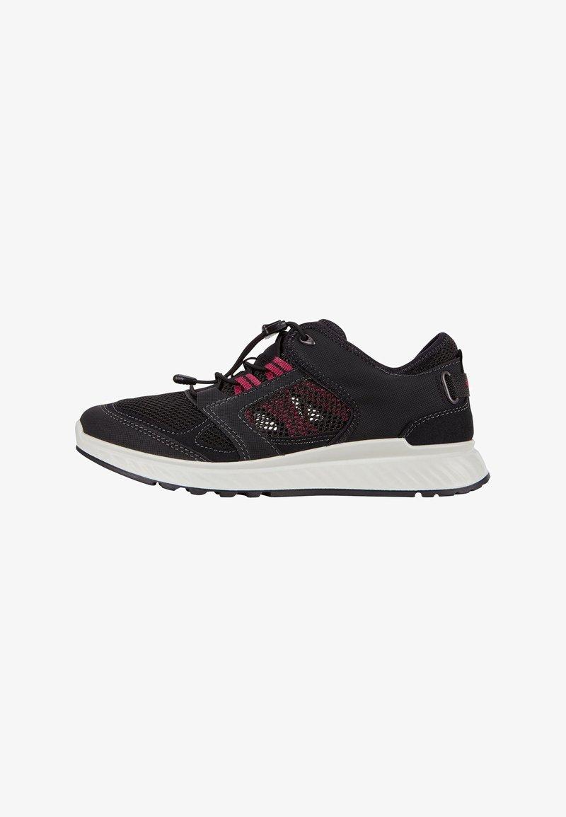ECCO - EXOSTRIDE  - Sneakers laag - black/sangria