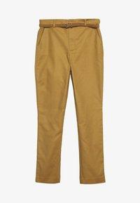 Springfield - CINTURÓN - Chino - beige/camel - 0