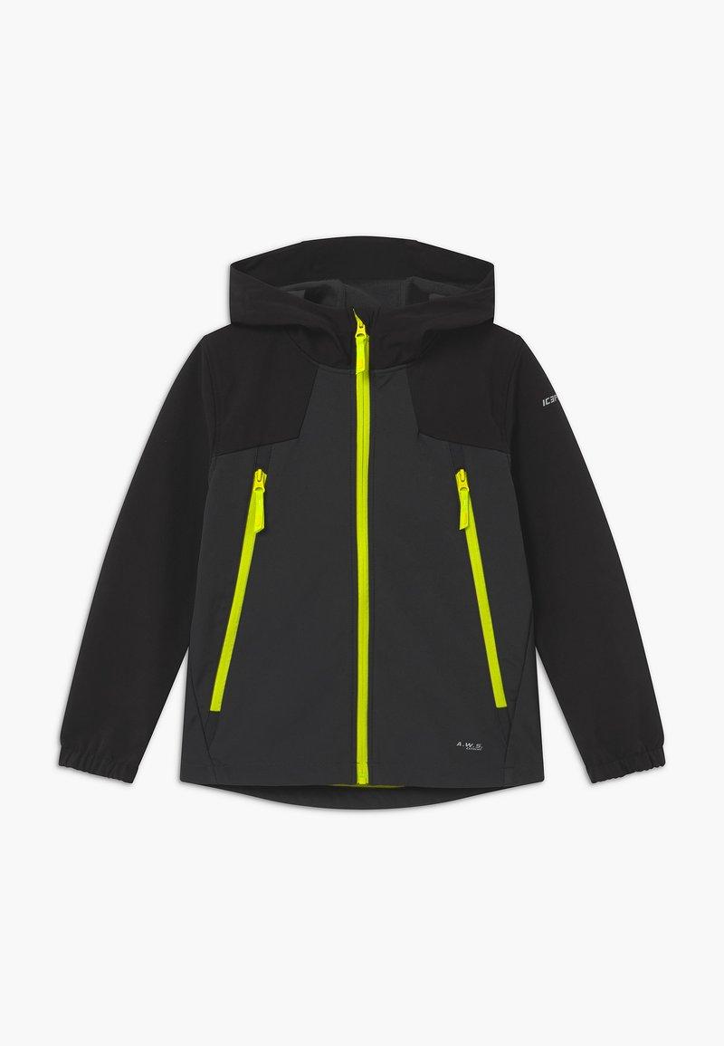 Icepeak - KANEVILLE - Soft shell jacket - grey