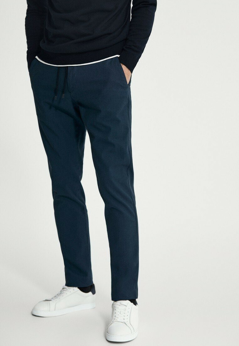 Massimo Dutti - Trousers - blue