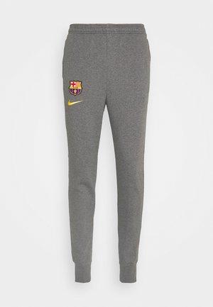 FC BARCELONA - Club wear - charcoal heathr/amarillo