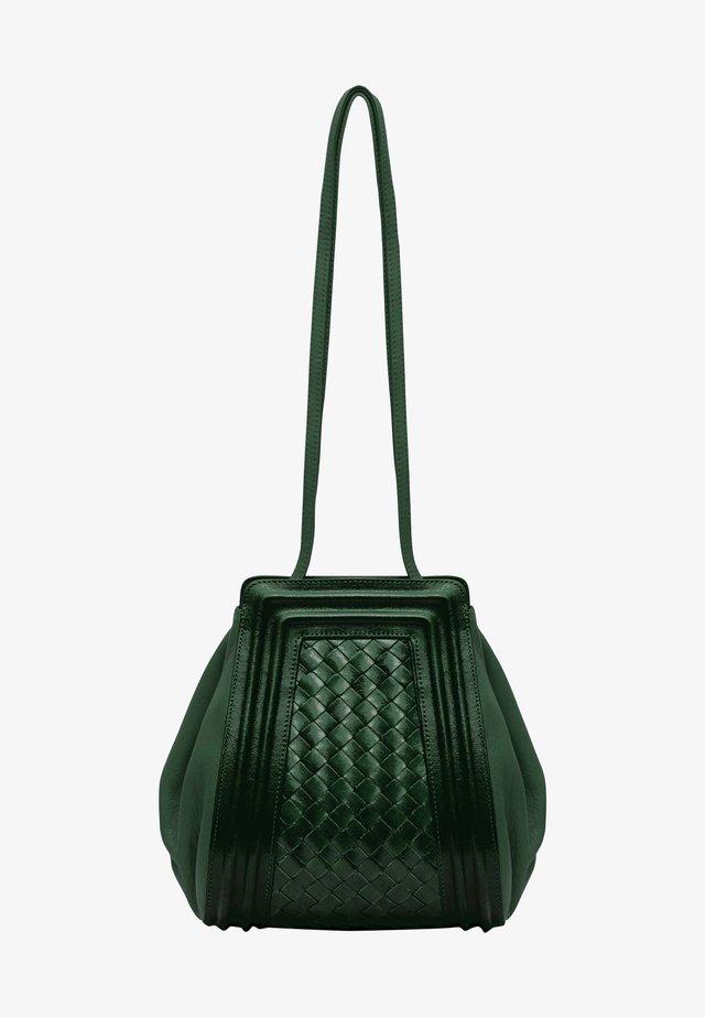 Across body bag - pine green
