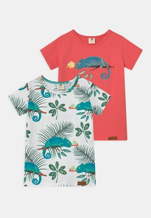 CHAMELEONS 2 PACK UNISEX - T-shirt con stampa - pink