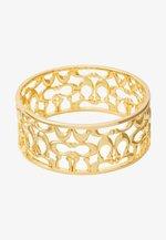 PIERCED SIG BANGLE - Bracelet - gold-coloured