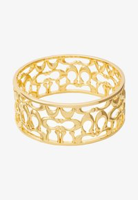 PIERCED SIG BANGLE - Náramek - gold-coloured