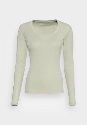 SORANA ROS - Maglietta a manica lunga - misty mint