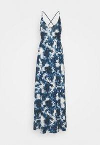 Even&Odd Tall - Maxi dress - blue/white - 0