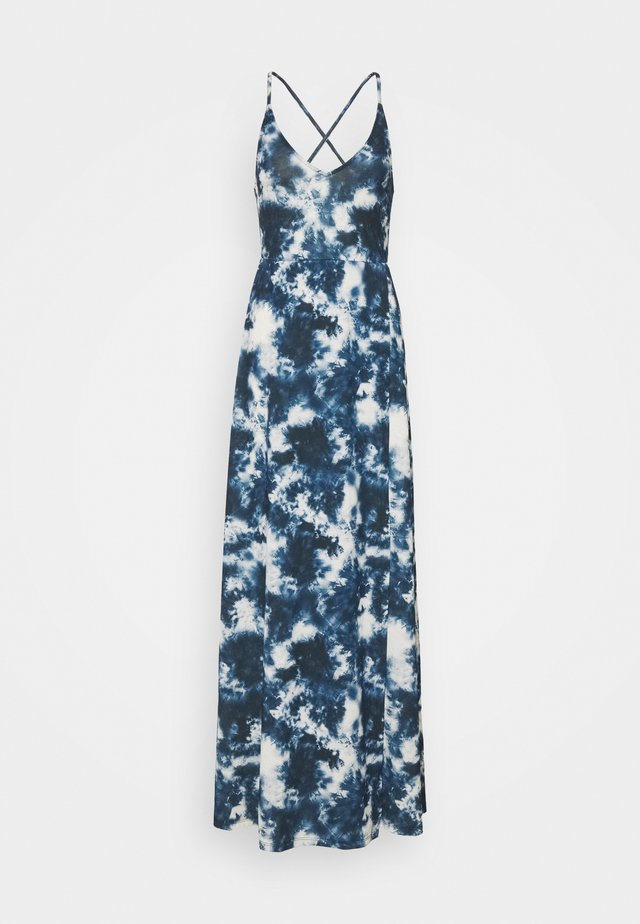 Robe longue - blue/white