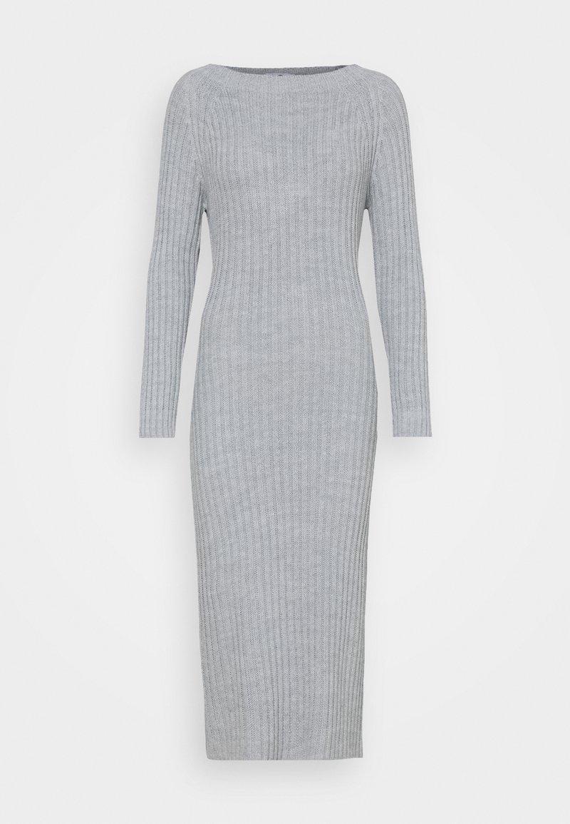 WAL G. - LASSIE DRESS - Jumper dress - light grey