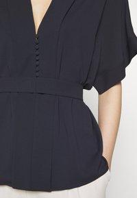 HUGO - CELONA - Button-down blouse - open blue - 4