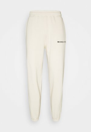 ESSENTIAL REGULAR UNISEX - Tracksuit bottoms - cream