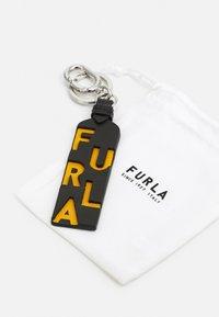 Furla - KEYRING UNISEX - Klíčenka - nero/ocra - 2