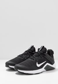 Nike Performance - LEGEND ESSENTIAL - Sports shoes - black/white/dark smoke grey - 2