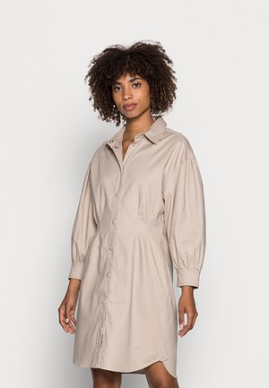 TICK DRESS - Blousejurk - simply taupe
