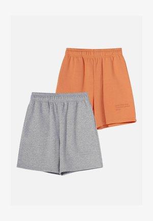 2 PACK - Shorts - orange