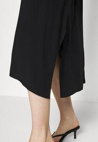 GAP - MIDI HANKY DRESS - Day dress - true black - 6