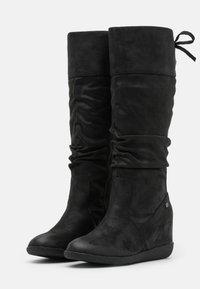 mtng - KONG - Wedge boots - karma black - 2