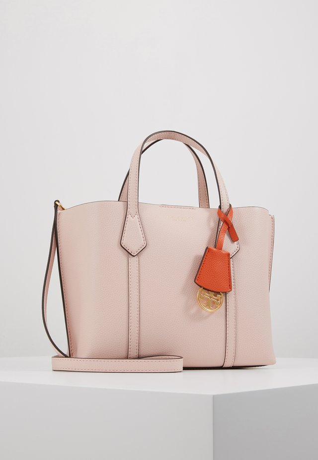 PERRY SMALL TRIPLE COMPARTMENT TOTE - Håndveske - shell pink
