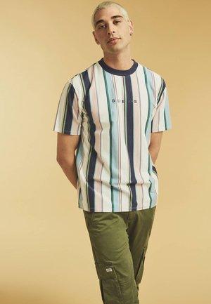 Print T-shirt - gemustert multicolor