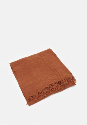 SOLID ILKANA SCARF - Scarf - pecan brown