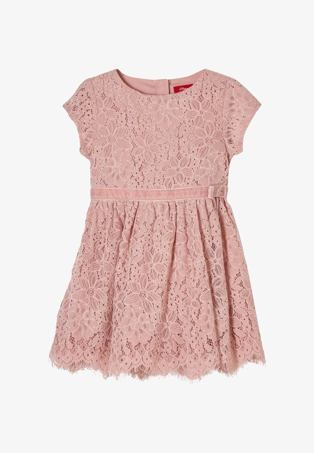 JURK - Korte jurk - light pink