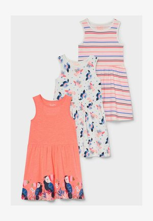 3 PACK - Day dress - neon pink