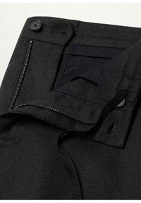 Mango - Trousers - schwarz - 7