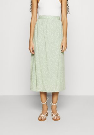 LOBÉLIE SKIRT - Áčková sukně - green