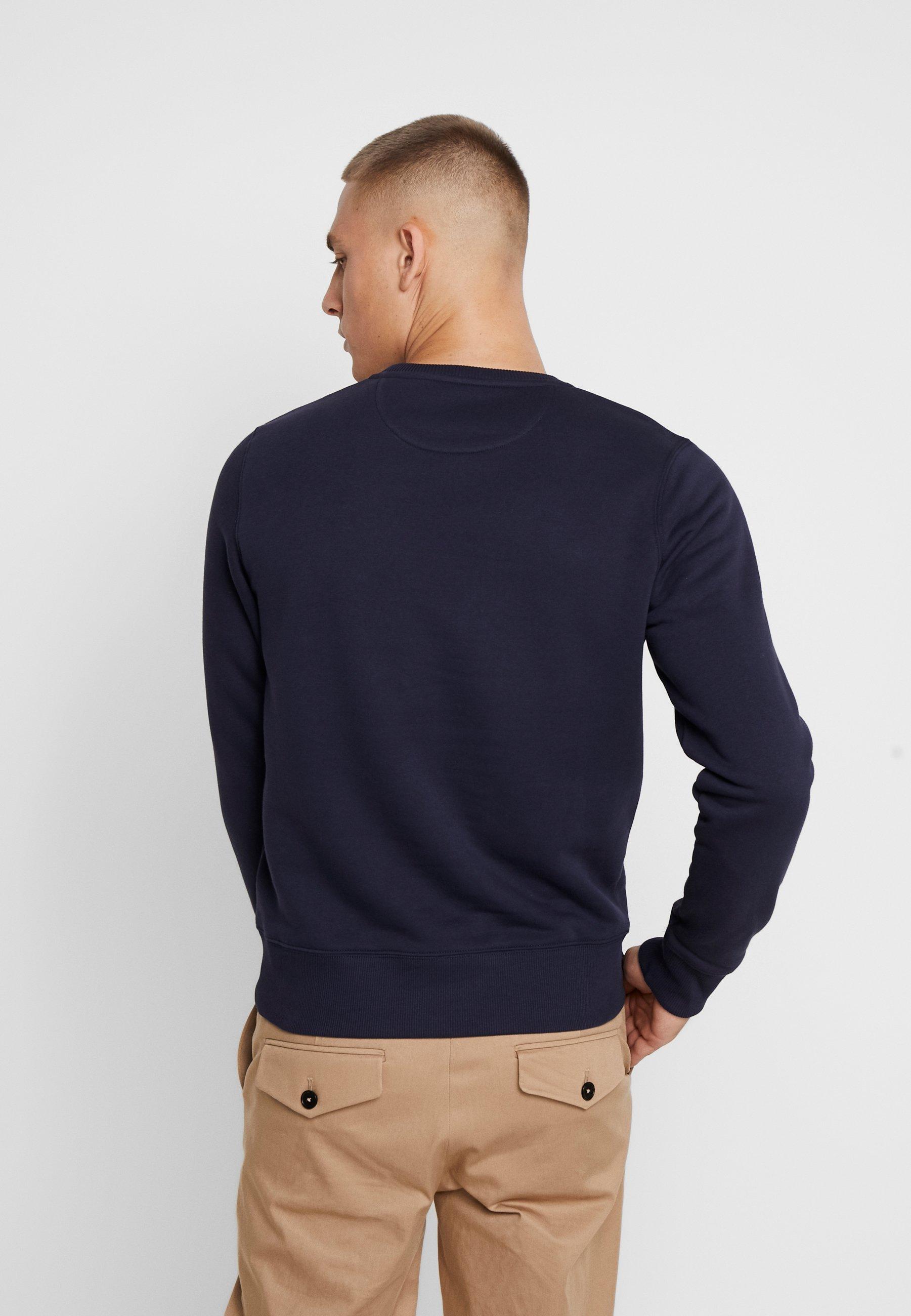 Gant Medium Shield Cneck - Sweatshirt Evening Blue/mørkeblå