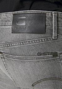 G-Star - STRAIGHT - Jeans straight leg - otas black stretch denim faded anchor - 4