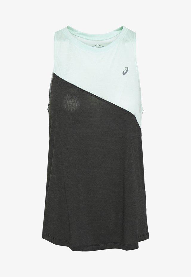 TOKYO TANK - Koszulka sportowa - mint tint/graphite grey