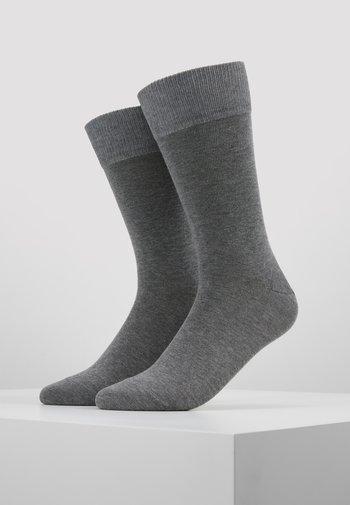 HAPPY 2-PACK - Socks - mottled grey
