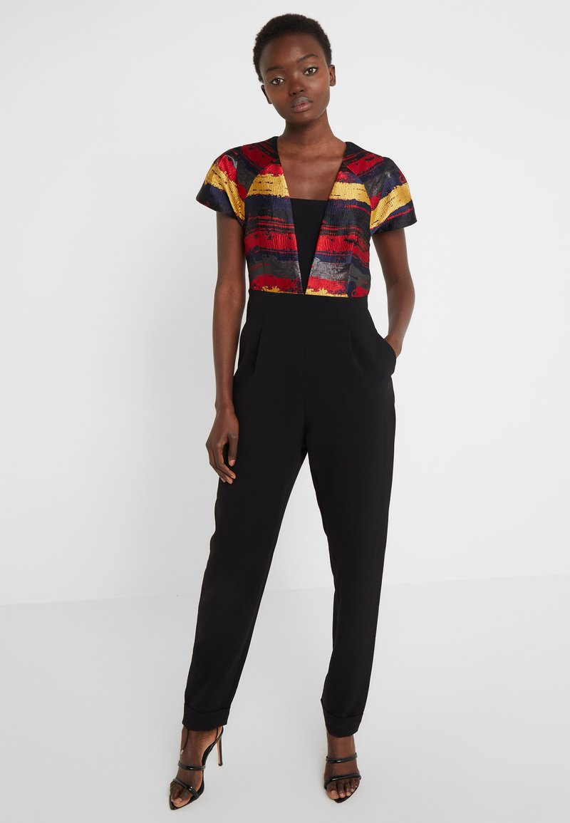 Three Floor - BOURDIN JUMPSUIT - Jumpsuit - scarlet red / navy / gold / black