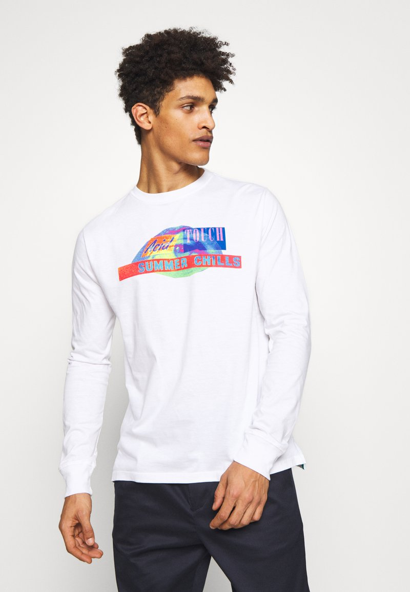 PS Paul Smith - SUMMER - Long sleeved top - white