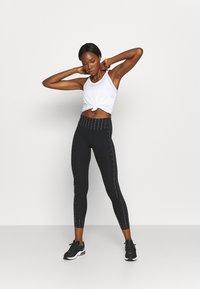Nike Performance - ONE BREATHE TANK - Top - white/black - 1