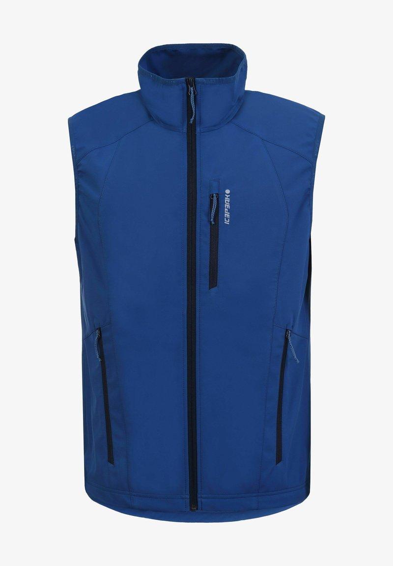 Icepeak - BOGATA  - Waistcoat - blau