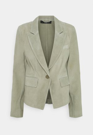 LUXURY BLAZER - Leather jacket - jungle