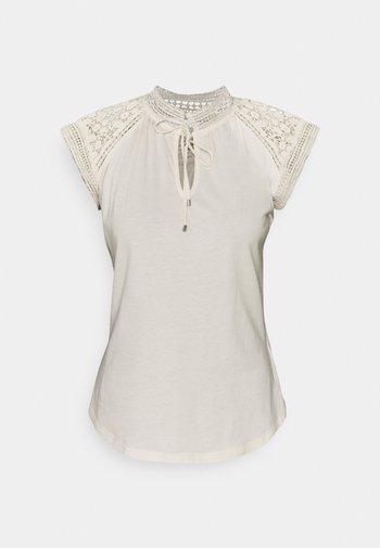 SUBLIME - Print T-shirt - mascarpone cream