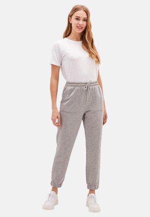 Pantalon de survêtement - grey/dark grey