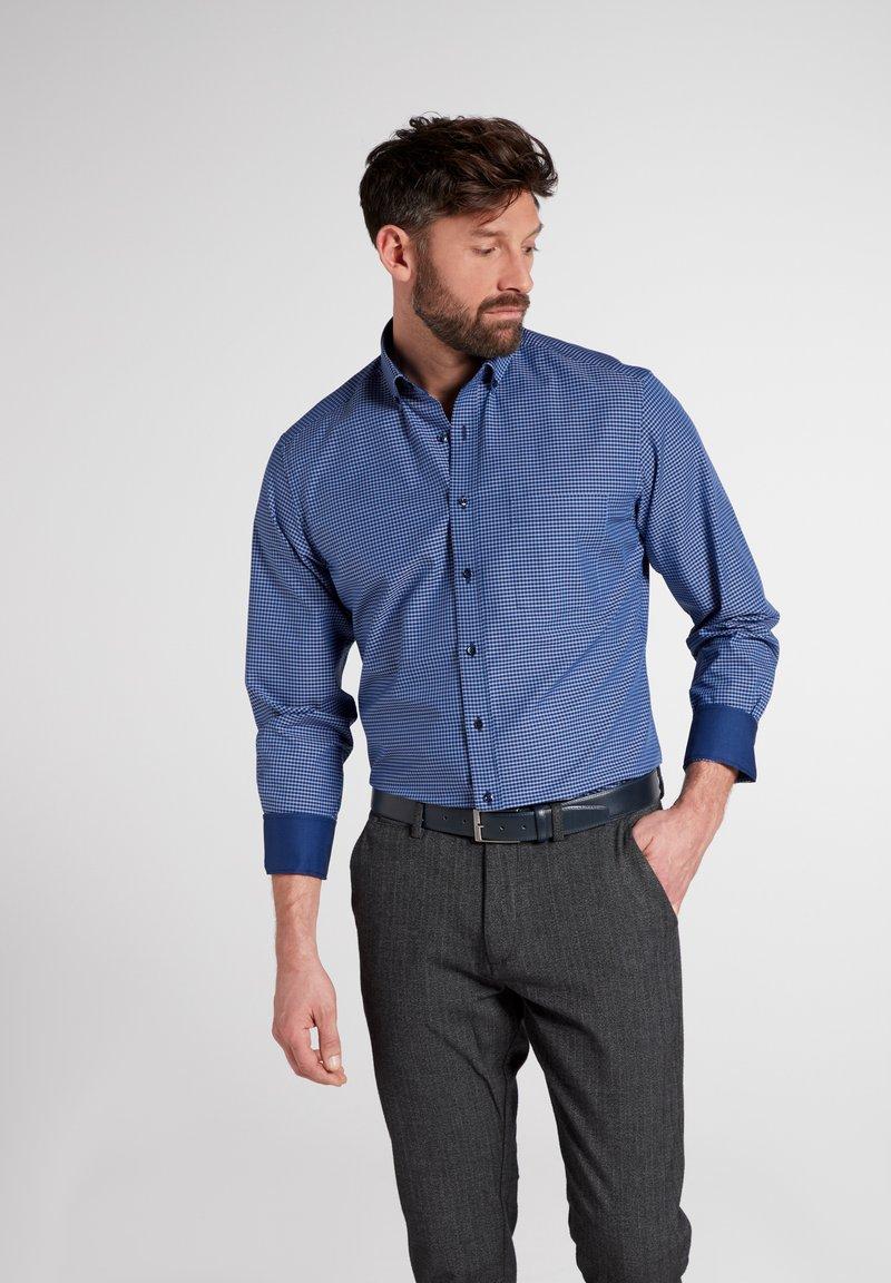 Eterna - Formal shirt - hellblau/marine