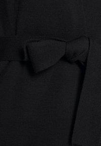 Filippa K - BELTED CARDIGAN - Cardigan - black - 6