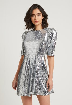 ZALANDO X NA-KD - Cocktailkleid/festliches Kleid - silver
