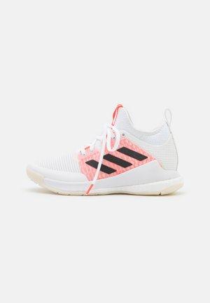 CRAZYFLIGHT MID - Volleyballsko - footwear white/core black/solar red