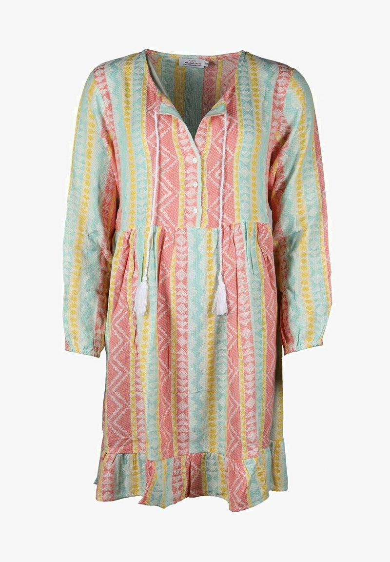 Zwillingsherz - KARLA - Shirt dress - bunt