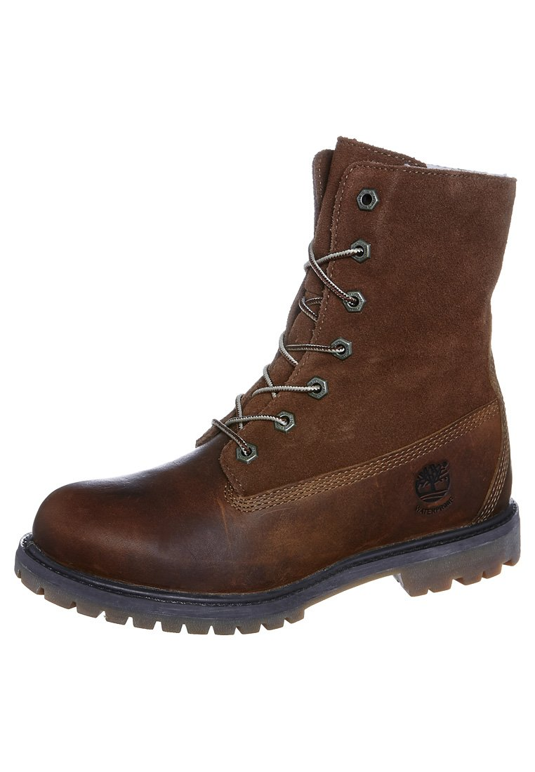 Timberland - AUTHENTICS - Lace-up ankle boots - tobacco