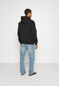 Carhartt WIP - HOODED - Sweatshirt - black/white - 2