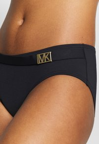 MICHAEL Michael Kors - LOGO SOLIDS BELTED BOTTOM - Bikini bottoms - black - 4