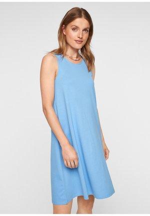 MET RUGHALS - Jersey dress - blue lagoon