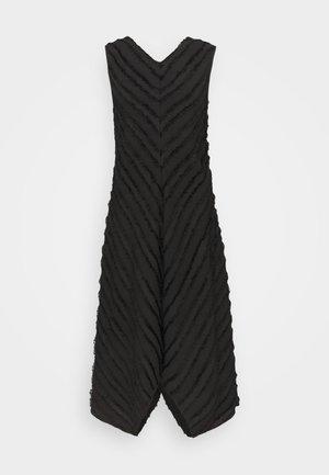 FRINGE FIL COUPE DRESS - Vapaa-ajan mekko - black