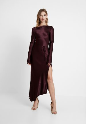 CAROLINE MIDI DRESS - Occasion wear - plum